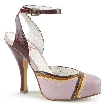 Retro High-Heeled Sandal CUTIEPIE-01 - Lilac