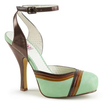 Retro High-Heeled Sandal CUTIEPIE-01 - Mint