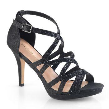 High-Heeled Sandal DAPHNE-42 - Black