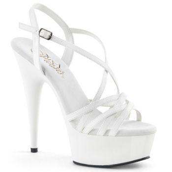 Platform High-Heeled Sandal DELIGHT-613 - White