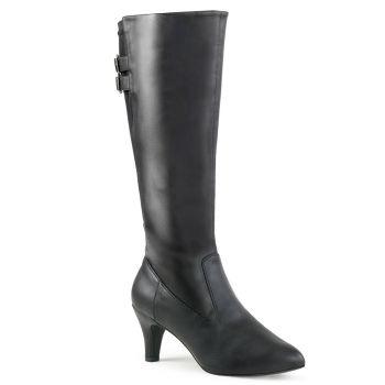 Boots DIVINE-2018 - PU Black
