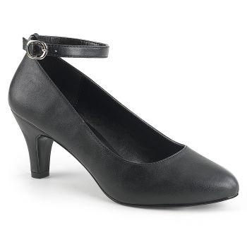 Ankle Strap Pumps DIVINE-431 - PU Black