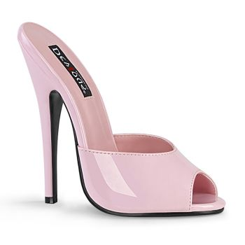 Extreme High Heels DOMINA-101 - Patent Baby Pink
