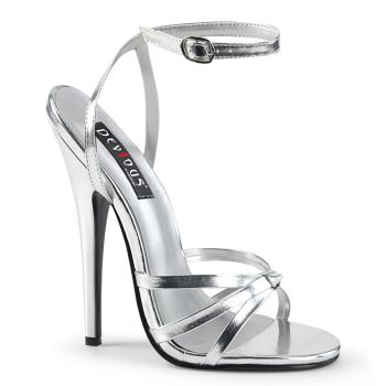 Extreme High Heels DOMINA-108 - Silver
