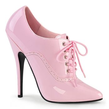 Extreme High Heels DOMINA-460 - Patent Baby Pink