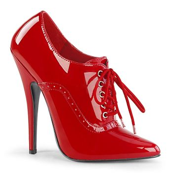 Extreme High Heels DOMINA-460 - Patent Red
