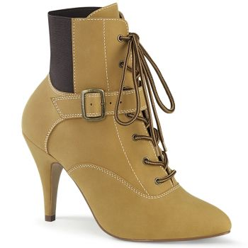 Ankle Boots DREAM-1022 - Tan*