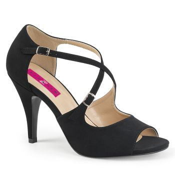 Peep Toe Sandals DREAM-412 - Black