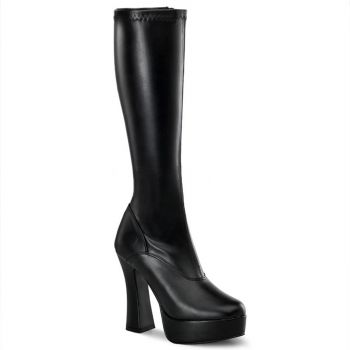 Knee Boot ELECTRA-2000Z - PU Black