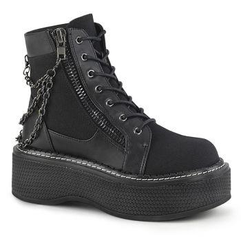 Platform Ankle Boots EMILY-114 - Black*