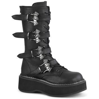 Platform Boots EMILY-322 - Black*