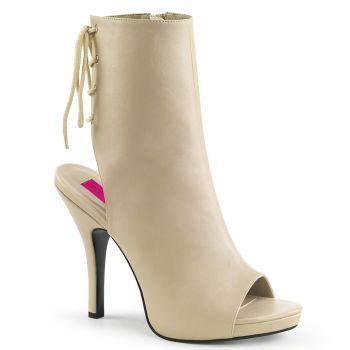 Ankle Boots EVE-102 - Cream*