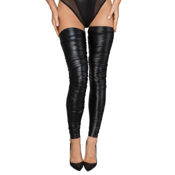 Power Wet Look Stockings F207*
