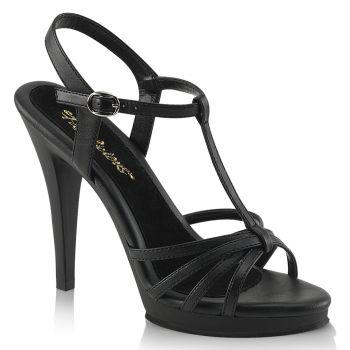 High-Heeled Sandal FLAIR-420 - PU Black
