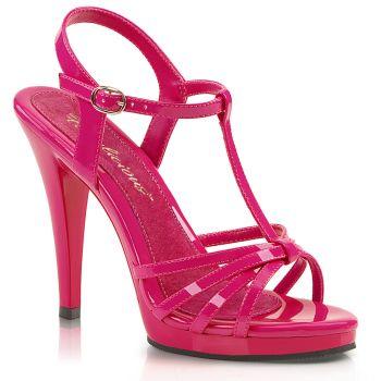 High-Heeled Sandal FLAIR-420 - Patent Hot Pink