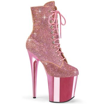 Extreme Heels FLAMINGO-1020CHRS - Baby Pink*