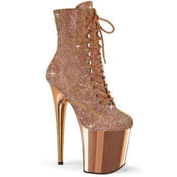 Extreme Heels FLAMINGO-1020CHRS - Rose Gold