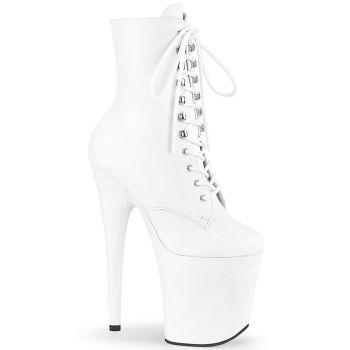 Extreme Heels FLAMINGO-1020LWR - Leather White