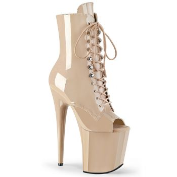 Extreme Platform Heels FLAMINGO-1021 - Patent Nude