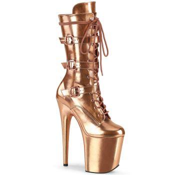Extreme Platform Heels FLAMINGO-1053 - Rose Gold