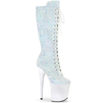 Extreme Heels FLAMINGO-2020MG - White