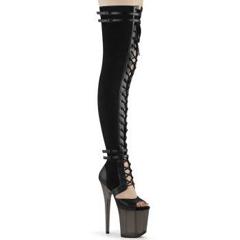 Extreme Heels  FLAMINGO-3027 - Black