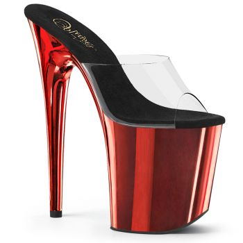 Extreme Platform Heels FLAMINGO-801 - Red