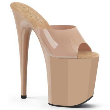 Extreme Platform Heels FLAMINGO-801N - TPU Cream