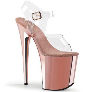 Extreme Platform Heels FLAMINGO-808 - Rosé