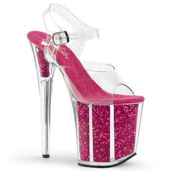 Extreme Platform Heels FLAMINGO-808G - Pink