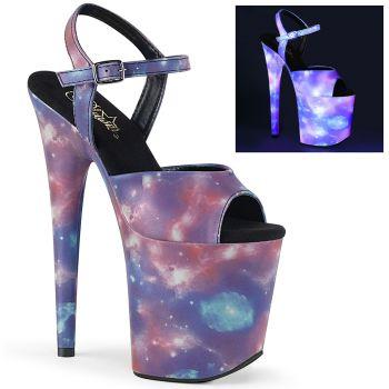 Extreme Platform Heels FLAMINGO-808REFL - Galaxy