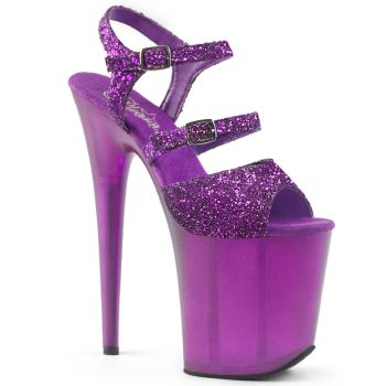 Extreme Platform Heels FLAMINGO-874 - Purple