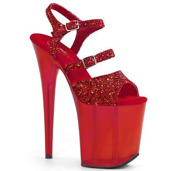Extreme Platform Heels FLAMINGO-874 - Red