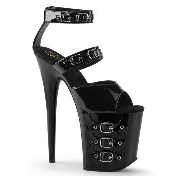 Extreme Platform Heels FLAMINGO-885 - Black