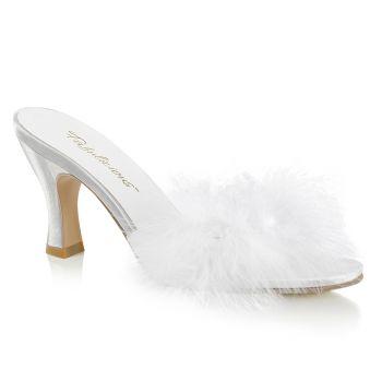 Kitten Heels FLAPPER-01F - White