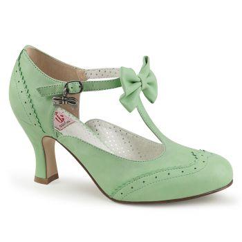 Kitten Heels FLAPPER-11 - Mint Green