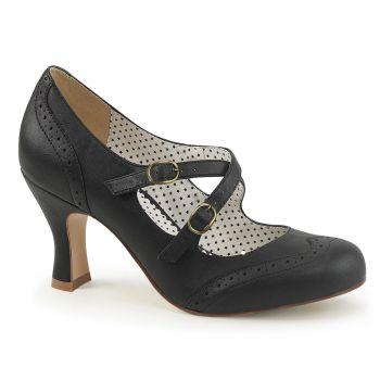 Kitten Heels FLAPPER-35 - Black