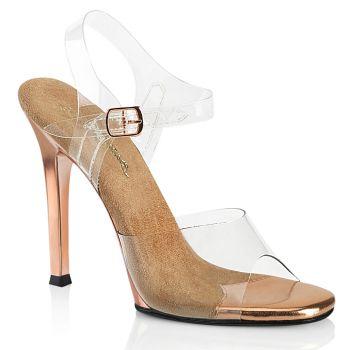 High-Heeled Sandal GALA-08 - Rose Gold