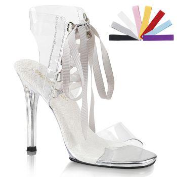 High-Heeled Sandal GALA-32 - Clear*
