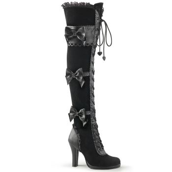 Lolita Gothic Boots GLAM-300