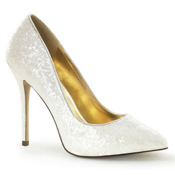 Pumps AMUSE-20G - Glitter Ivory