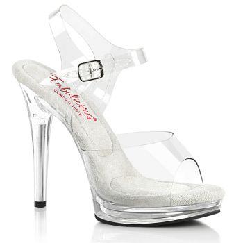 High Heels Sandal GLORY-508 - Clear/Clear
