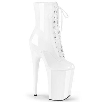 Extreme Platform Heels INFINITY-1020 - White