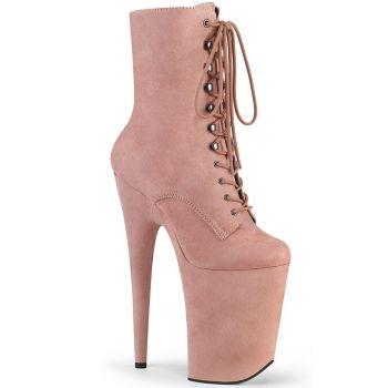 Extreme Platform Heels INFINITY-1020FS - Baby Pink