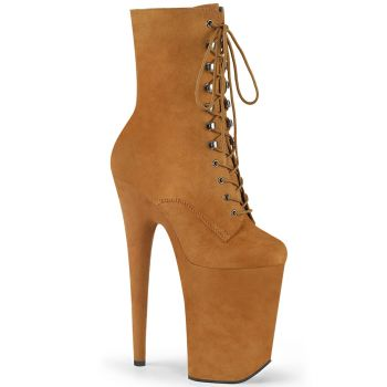 Extreme Platform Heels INFINITY-1020FS - Camel