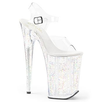 Extreme Platform Sandal INFINITY-908MG - Clear/Clear