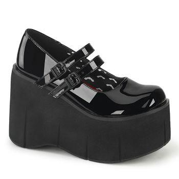 Platform Mary Jane KERA-08 - Patent Black