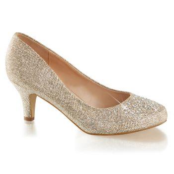 Kitten Heels DORIS-06 - Glitter Nude