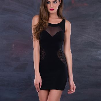 Strapless Mini Dress LOLY*