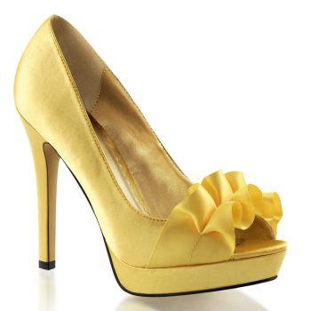 Platform Peep Toes LUMINA-42 - Yellow